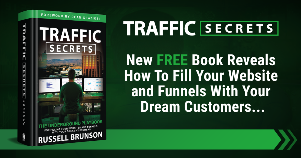 Get Your Traffic Secrets Book